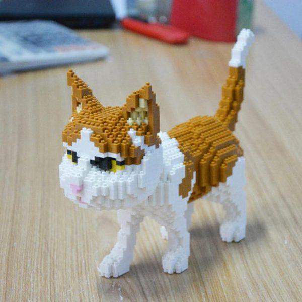 Balody 16037 Persian Cat Official LOZ BLOCKS STORE