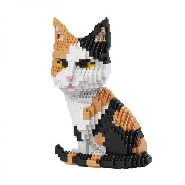 Balody 16036 Animal Persian Cat Tabby Kitten Official LOZ BLOCKS STORE