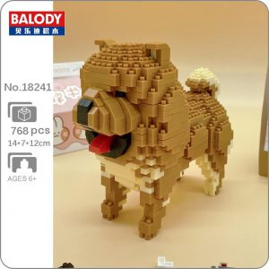 Balody 18241 Animal Chow Chow Chowdren Dog Official LOZ BLOCKS STORE