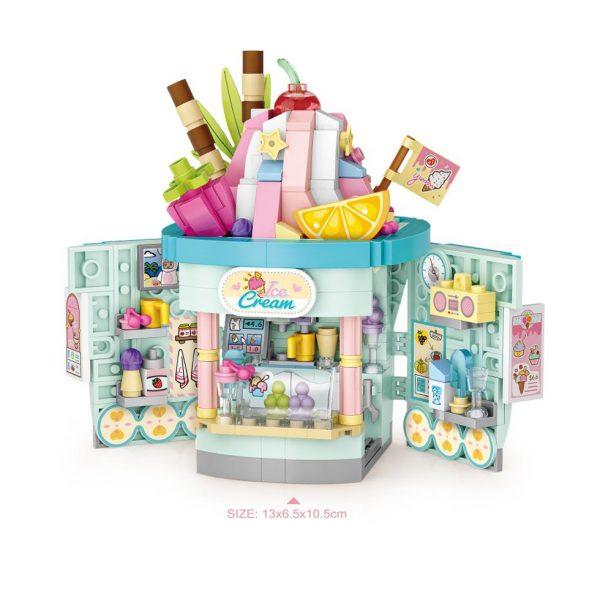 LOZ Mini Block Ice Cream Shop & Toast Shop Official LOZ BLOCKS STORE