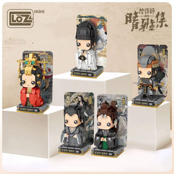 LOZ Mini Block Onmyoji Qingya Brick Headz Official LOZ BLOCKS STORE