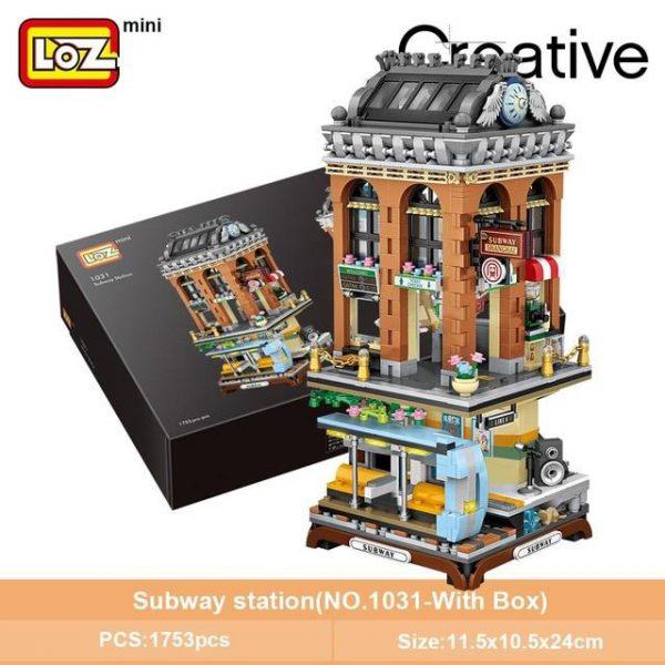 LOZ Mini Block Subway Station Official LOZ BLOCKS STORE