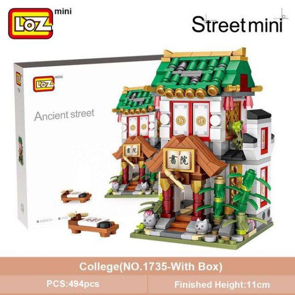 LOZ Mini Block Mini Chinatown Tradition Street Official LOZ BLOCKS STORE
