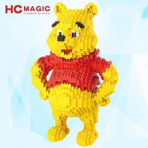 HC Magic Blocks Winnie the Pooh Official LOZ BLOCKS STORE