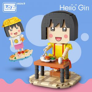 LOZ Mini Blocks Chibi Maruko Cartoon Official LOZ BLOCKS STORE