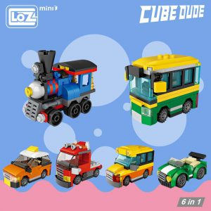LOZ Mini Blocks Eggs Brick Car Official LOZ BLOCKS STORE