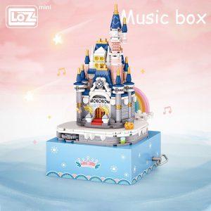 LOZ Mini Princess Castle Music Box Official LOZ BLOCKS STORE