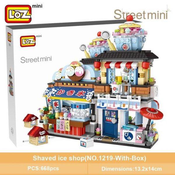 LOZ Mini Blocks Japanese Mini Street Official LOZ BLOCKS STORE