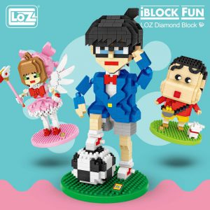 LOZ Diamond Blocks Japan Anime Characters Official LOZ BLOCKS STORE