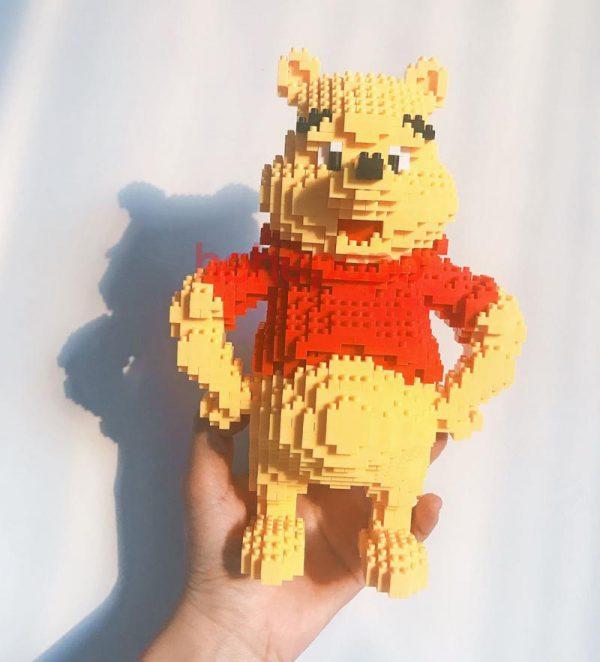 HC Magic Blocks Winnie the Pooh Official LOZ BLOCKS STORE
