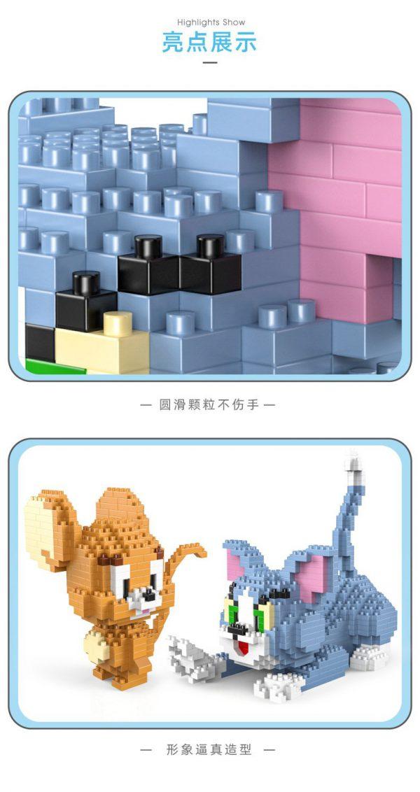 HC Magic Blocks Cartoon Tom And Jerry Official LOZ BLOCKS STORE