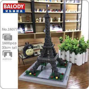 Balody 16077 Paris Eiffel Tower World Famous Architecture Official LOZ BLOCKS STORE