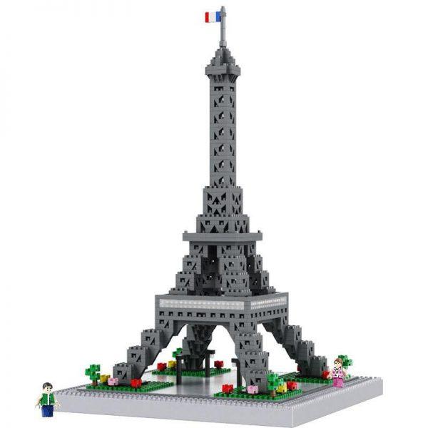 Balody 16077 Paris Eiffel Tower World Famous Architecture Official LOZ BLOCKS STORE