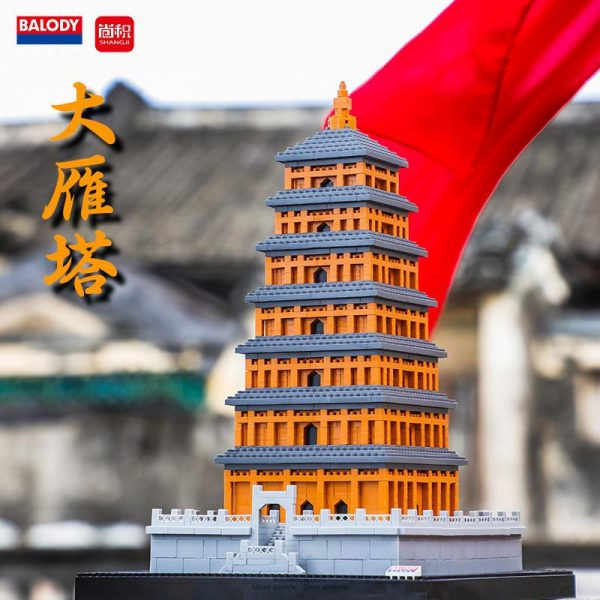 Balody 16161 Goose Pagoda World Famous Architecture Wild Official LOZ BLOCKS STORE