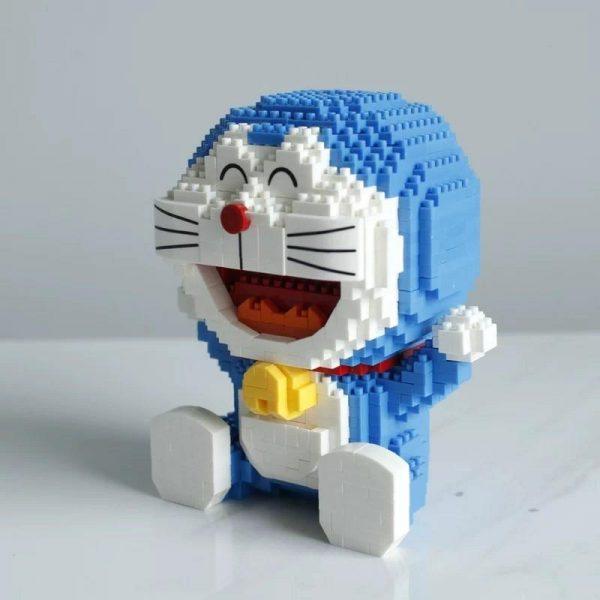 Balody 16131 Anime Doraemon Cat Robot Sit Official LOZ BLOCKS STORE
