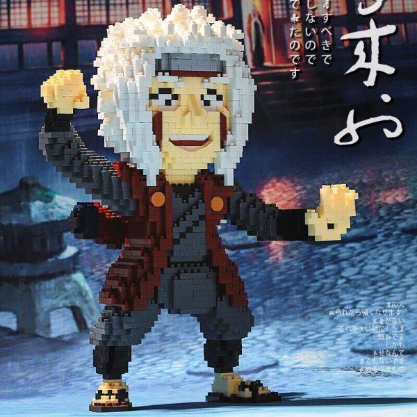 Balody 16165 Anime Naruto Master Jiraiya Official LOZ BLOCKS STORE