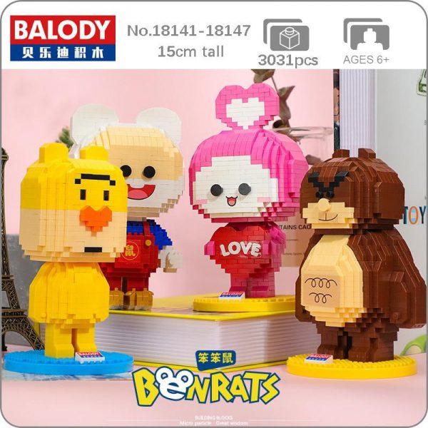 Balody Cartoon Benrat Collection Official LOZ BLOCKS STORE