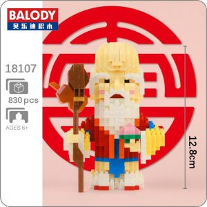 Balody 18107 China Immortal The God of Longevity Official LOZ BLOCKS STORE