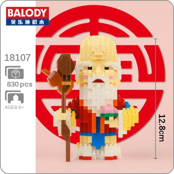 Balody 18107 China Immortal The God of Longevity Official LOZ BLOCKS STORE