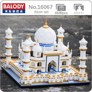 Balody 16067 Taj Mahal Palace World Famous Architecture Official LOZ BLOCKS STORE