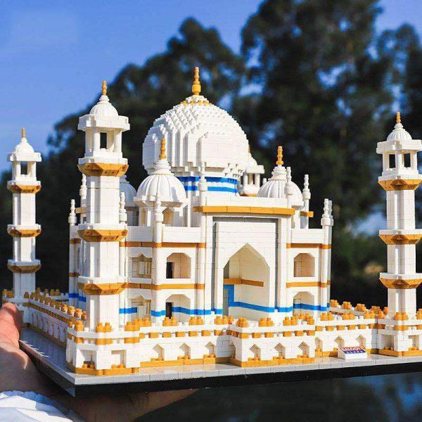 Balody 16067 Taj Mahal Palace World Famous Architecture Official LOZ BLOCKS STORE