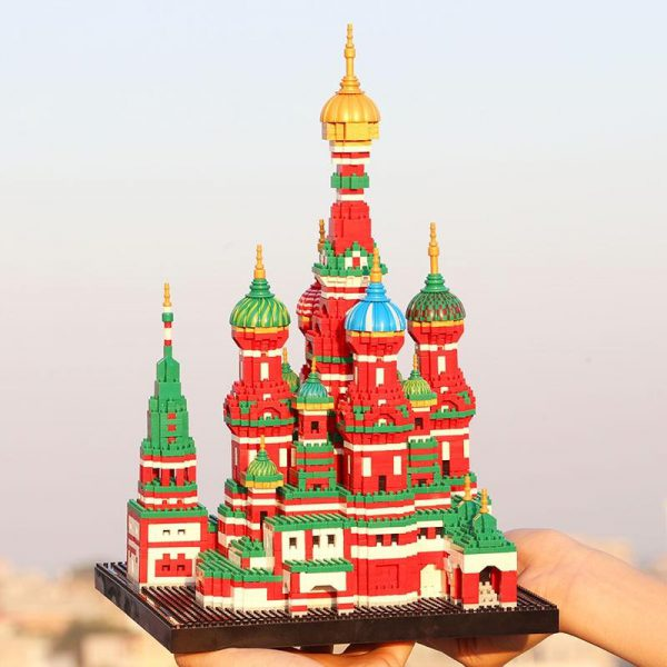 Balody 16066 Saint Basil's Cathedral World Architecture Official LOZ BLOCKS STORE