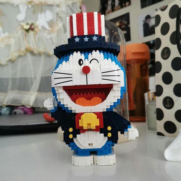 Balody 16133 Anime Doraemon Cat Robot Magician Official LOZ BLOCKS STORE