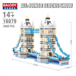 Balody London Bridge World Architecture Official LOZ BLOCKS STORE