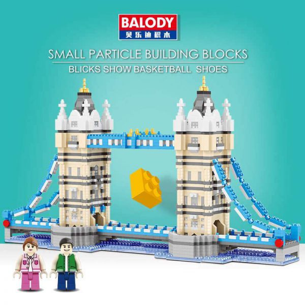 Balody London Bridge World Architecture Official LOZ BLOCKS STORE