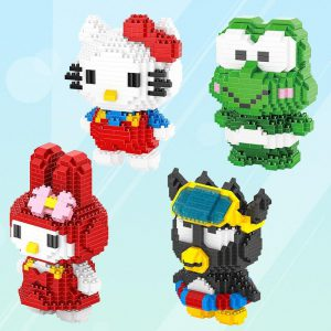 HC Magic Blocks Cartoon Hello Kitty Official LOZ BLOCKS STORE
