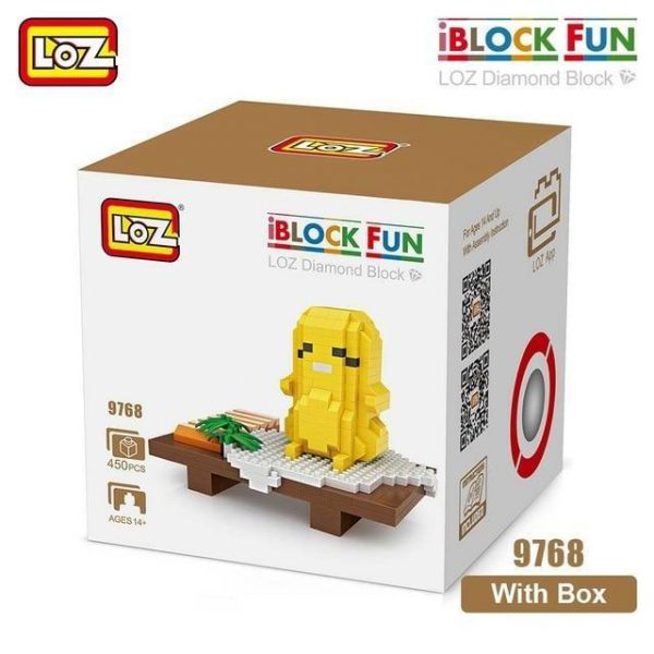 LOZ Diamond Blocks Sushi Assembly Model Official LOZ BLOCKS STORE
