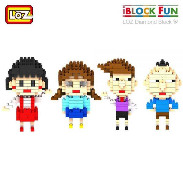LOZ Diamond Blocks Japan Anime Dolls Official LOZ BLOCKS STORE