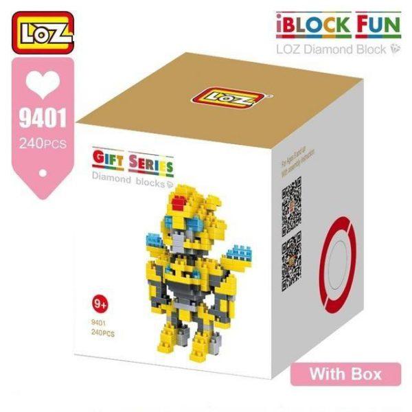 LOZ Diamond Blocks Micro Robot Figure Official LOZ BLOCKS STORE