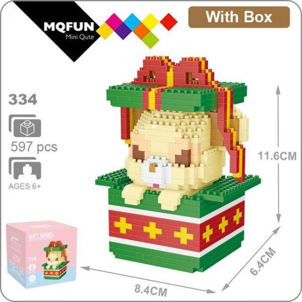 LNO Merry Christmas Model Building Blocks Official LOZ BLOCKS STORE
