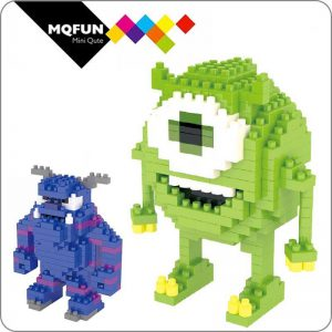 LNO Diamond Cartoon Monsters University Official LOZ BLOCKS STORE