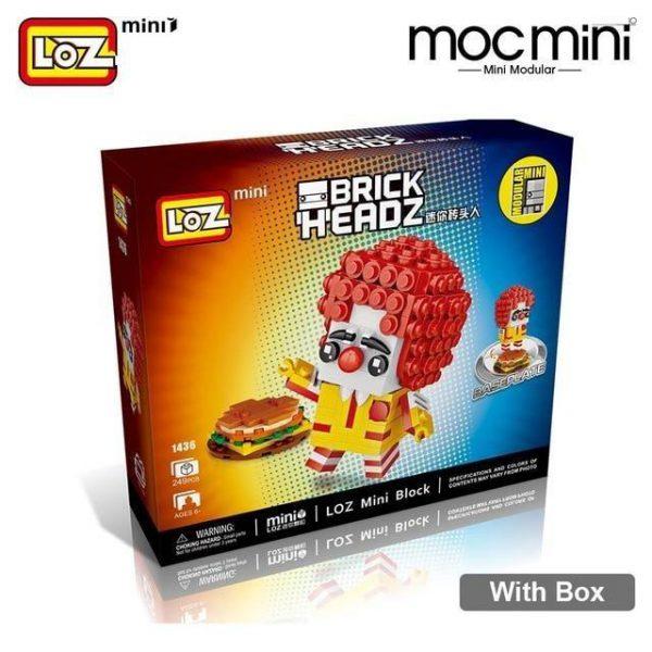 LOZ Mini Blocks Clown Figure Official LOZ BLOCKS STORE