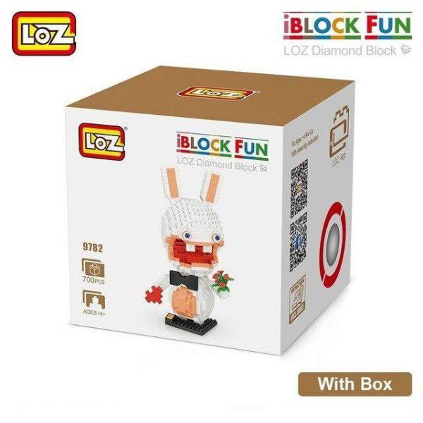 LOZ Diamond Blocks Rabbit Doll Official LOZ BLOCKS STORE