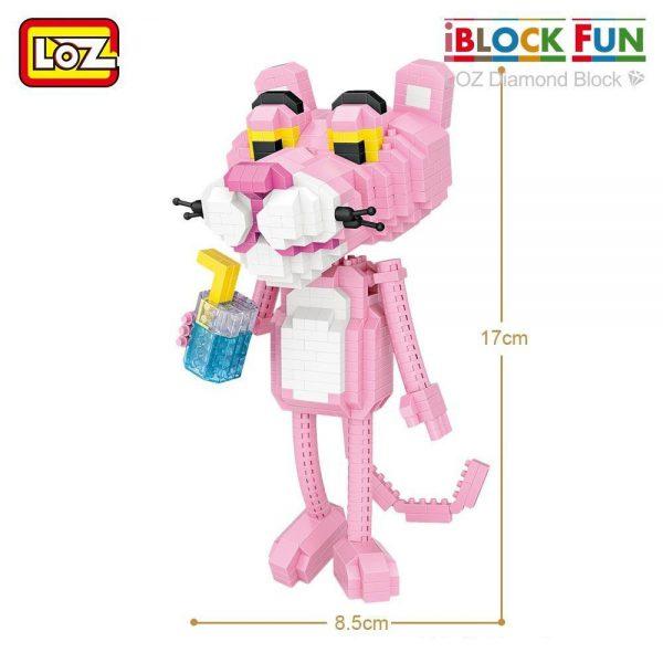 LOZ Diamond Blocks Cartoon Leopard Figures Official LOZ BLOCKS STORE