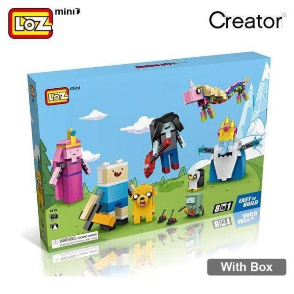 LOZ Mini Block Cartoon Figure Official LOZ BLOCKS STORE