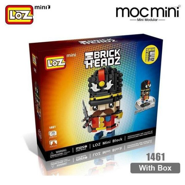 LOZ Mini Blocks Movie Characters Headz Toys Official LOZ BLOCKS STORE
