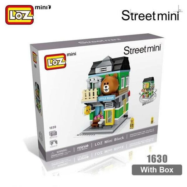 LOZ Mini Block House Cartoon Shop Official LOZ BLOCKS STORE