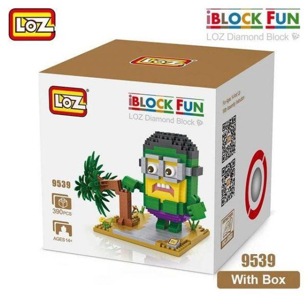 LOZ Diamond Blocks Minions Action Figures Official LOZ BLOCKS STORE