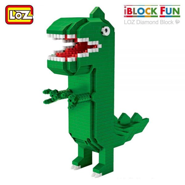 LOZ Diamond Blocks Cartoon Dinosaur Figure Official LOZ BLOCKS STORE
