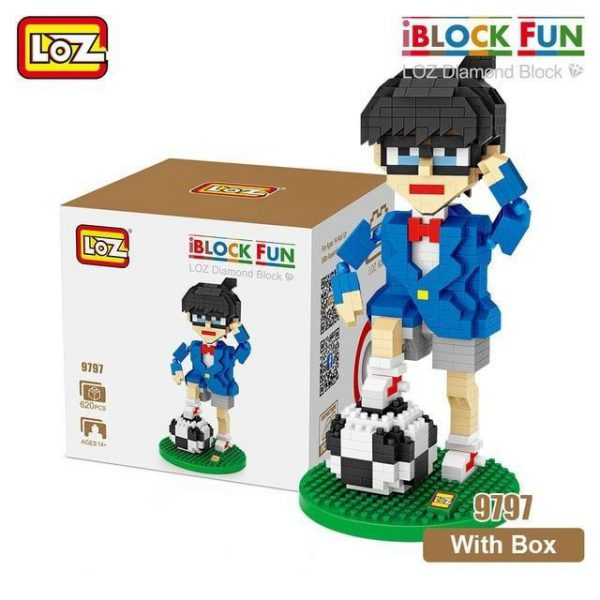 LOZ Diamond Blocks Assembly Anime Action Figure Official LOZ BLOCKS STORE