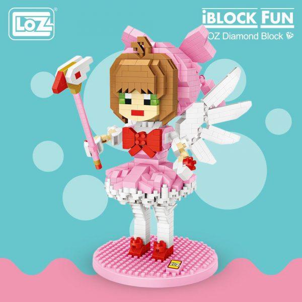 LOZ Diamond Blocks Magical Girl Official LOZ BLOCKS STORE