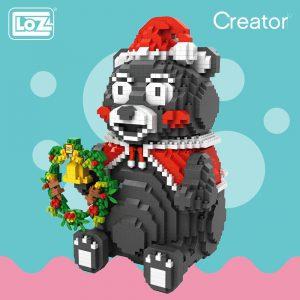 LOZ Diamond Blocks Japanese Kumamon Bear Official LOZ BLOCKS STORE