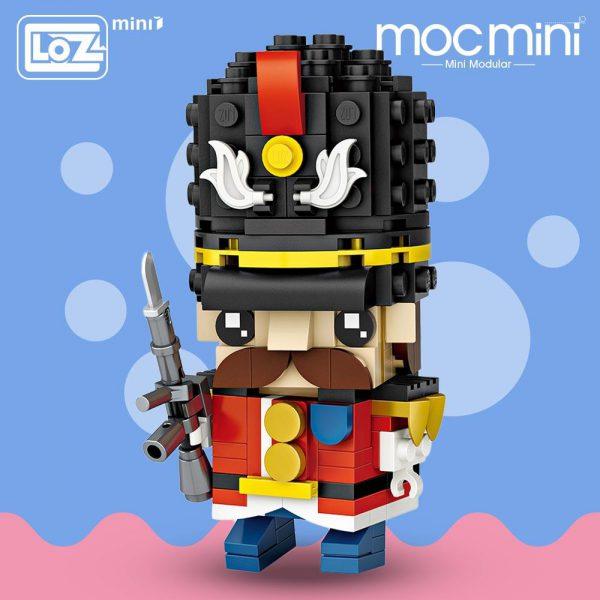 LOZ Mini Block Character British Soldier Official LOZ BLOCKS STORE