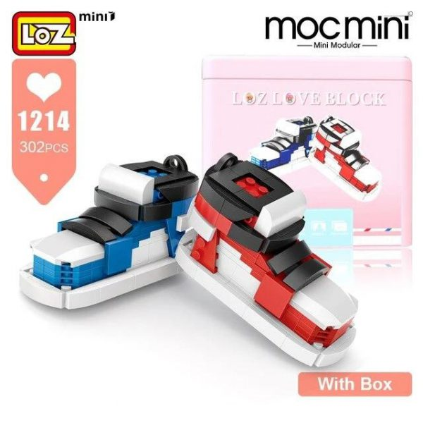 LOZ Mini Blocks New Cute Couples Sports Shoes Official LOZ BLOCKS STORE