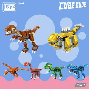 LOZ Mini Blocks Jurassic Dinosaur Official LOZ BLOCKS STORE