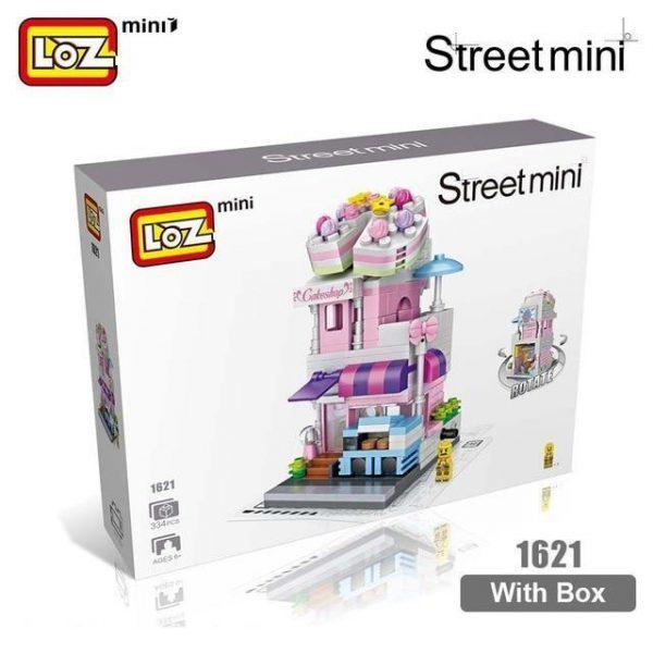 LOZ Mini Bricks Architecture Mini Street Model Official LOZ BLOCKS STORE